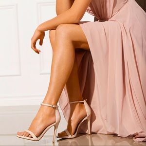 Aldos Caraa heeled sandal bone size 6 1/2